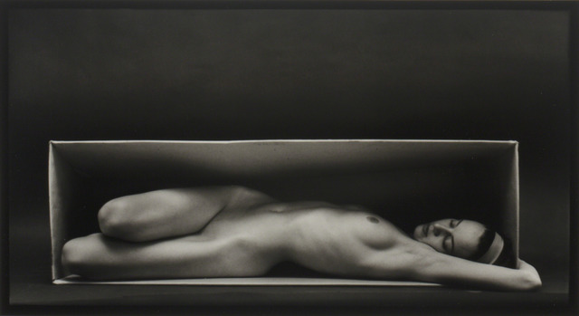 , 'Nude in the Box,' 1962, Robert Klein Gallery
