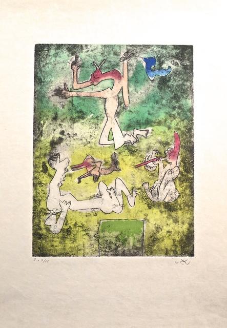 Roberto Matta, 'Centre Noeds - Plate I', 1974, MLA Gallery