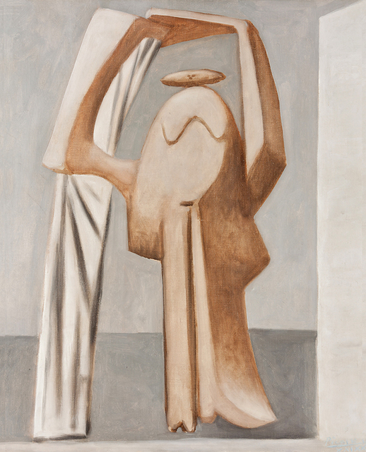 , 'Female bather with raised arms,' 1929, Vancouver Art Gallery