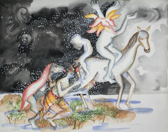 , 'Rains on Lovers,' 2002, Swaraj Art Archive