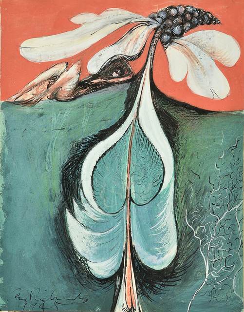 Ceri Richards, ''The force that through the green fuse drives the flower….'', 1945, Mixed Media, Mixed Media, Kynance Fine Art