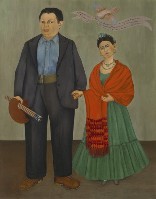 Frida Kahlo, 'Frida and Diego Rivera', 1931, San Francisco Museum of Modern Art (SFMOMA)