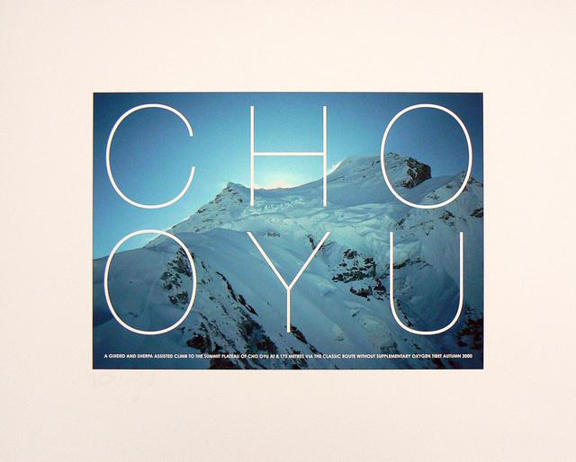 Hamish Fulton, 'Cho Oyu. Tibet, 2000', 2000, Rhona Hoffman Gallery