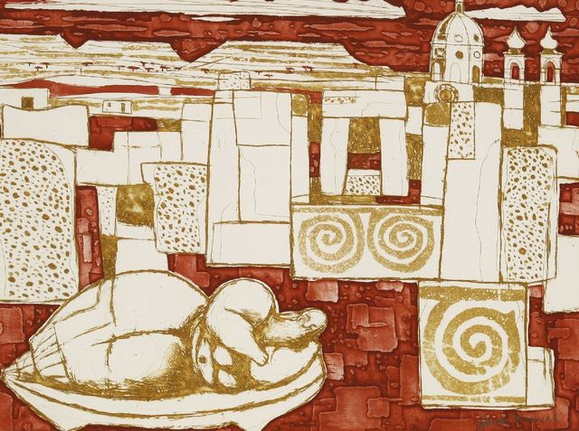 Julian Trevelyan, 'Neolithic Temple', 1959, Sworders