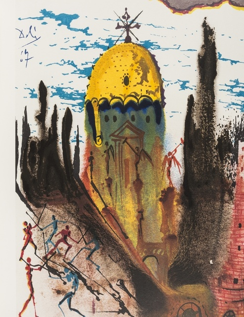 Salvador Dalí, 'Romeo e Julia (Michler and Lopsinger 1601) ', 1975, Print, The deluxe book containing 10 offset lithographs in colours, Forum Auctions