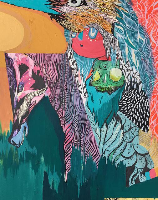 , 'Horse & Totem,' 2017, Helikon Gallery & Studios