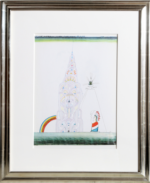 Saul Steinberg, 'Chrysler Building (Day), from Derrière le Miroir ', ca. 1965, RoGallery