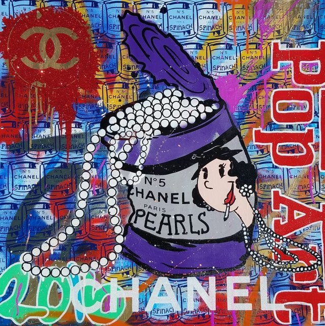 , 'Chanel Olive Oyl Purple,' 2016, Avant Gallery
