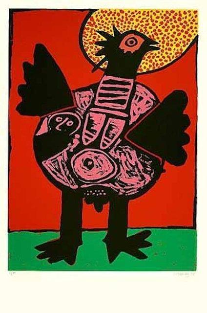 Corneille, 'Big bird (Grosser Vogel)', ARTEDIO