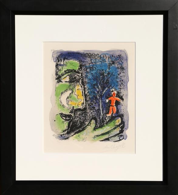 Marc Chagall, 'Le Profil et L'enfant Rouge (M. 284)', 1960, Print, Lithograph on Arches paper, RoGallery