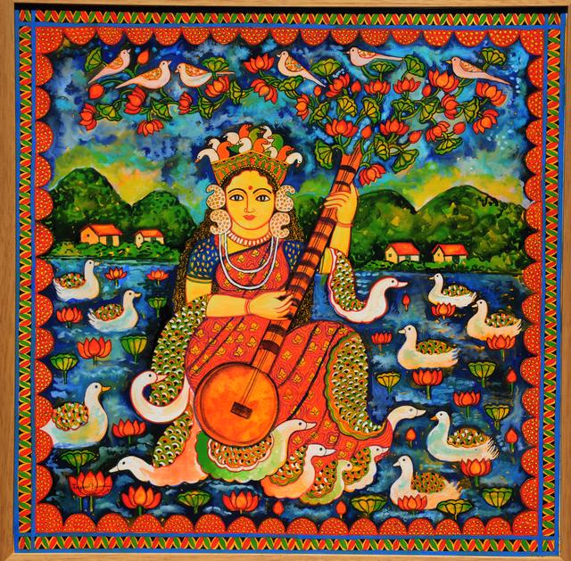 Jayasri Burman, 'Goddess series', 2018, Arushi Arts