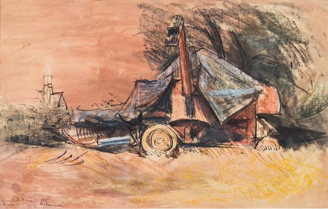 , 'Farm Machinery, Henham, Essex,' 1950, Charles Nodrum Gallery
