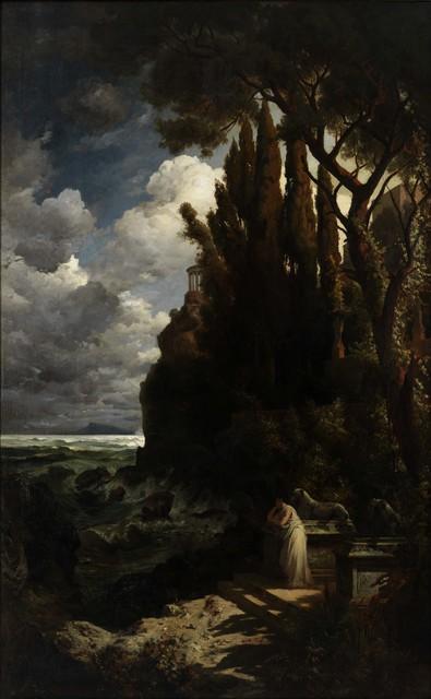 , 'Iphigenie auf Tauris,' 1882, Galerie Michael Haas