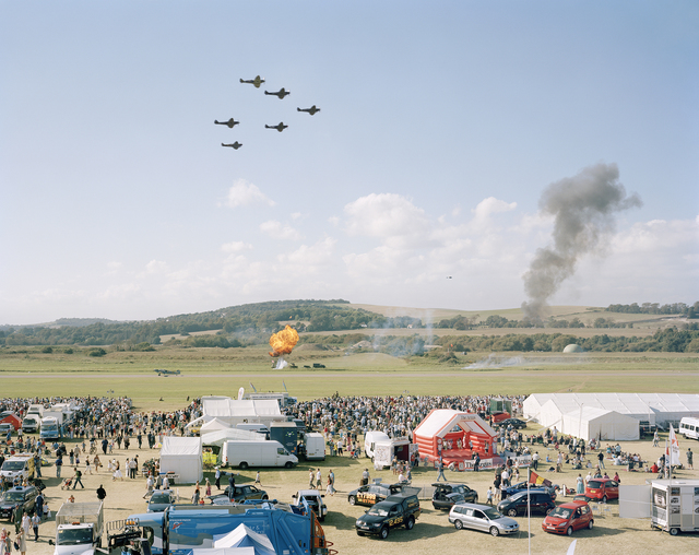 , 'Battle of Britain Memorial Flight, Shoreham Air Show, West Sussex, 15 September 2007 ,' 2007, Flowers