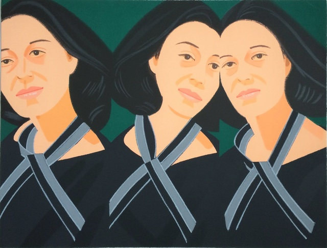 Alex Katz, 'Grey Ribbon', 1990, michael lisi / contemporary art