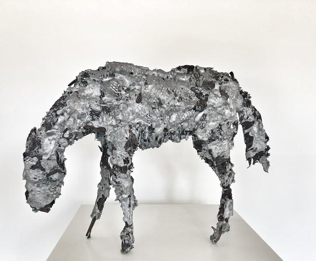 Deborah Butterfield, 'Aluminum Horse #3', 1981, William Shearburn Gallery