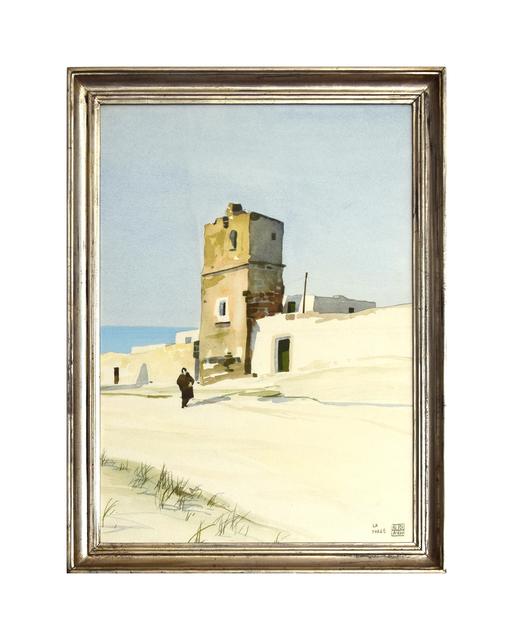 Aldo Riso, 'Torre con Contadina', 20th century, Wallector