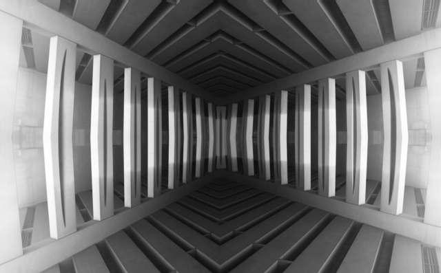 , 'Disorientation I,' 2017, Helikon Gallery & Studios