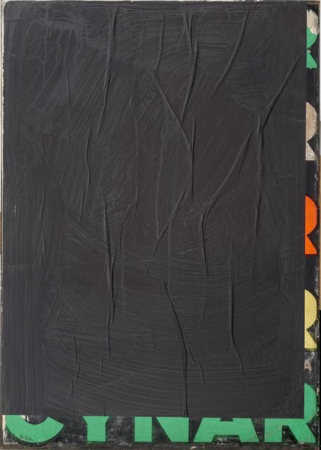 , 'Black-Blank Cynar 2,' 1980, CARDI GALLERY