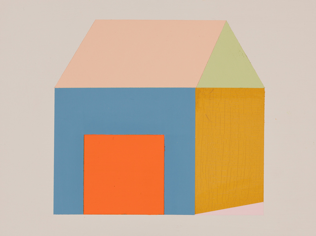 , 'Orange Door House 1,' 2014, A.I.R. Gallery