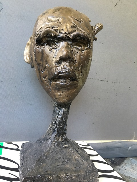 , 'Wounded Head,' 2002, Grob Gallery