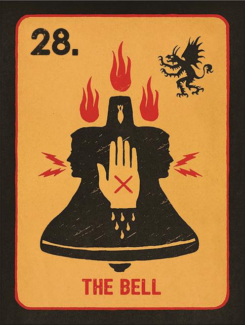 Daniel Martin Diaz, '28. The Bell', 2018, La Luz de Jesus Gallery