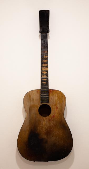 John Iwaszewicz, 'Black Burn Guitar', 2019, Creativity Explored