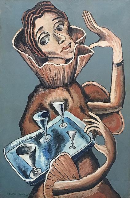 Rolph Scarlett, 'Four of Cups', ca. 1930, Lawrence Fine Art