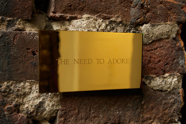 , 'The Need To Adore,' 2014, Lazarides