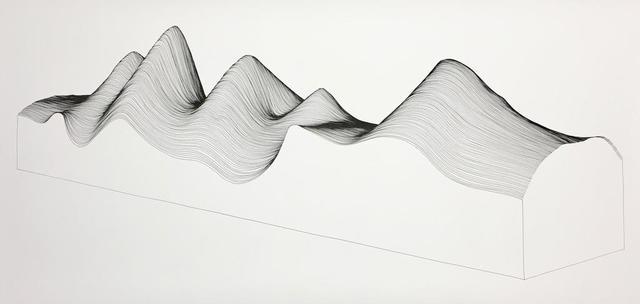 , 'Linescape 10,' 2017, Artemisa Gallery