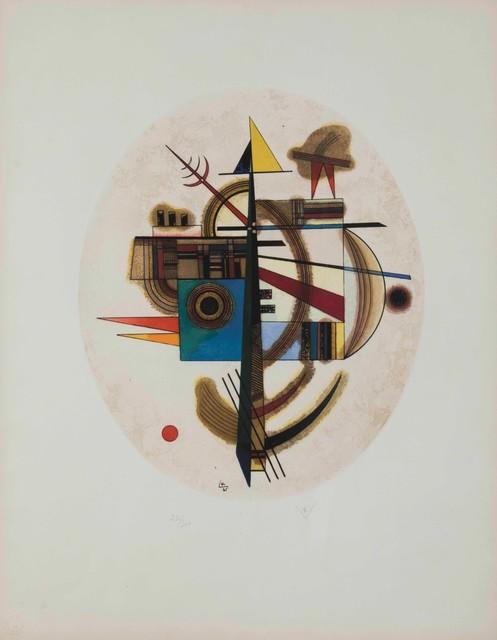 Wassily Kandinsky, 'Ovale Komposition', 1925, Cambi
