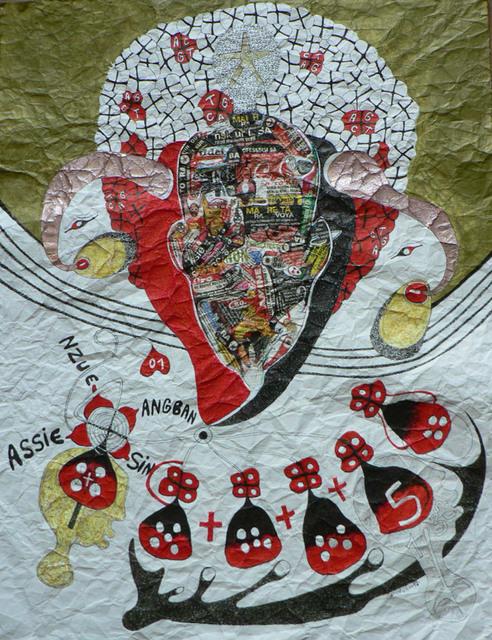 , 'Angel in A @ faafrodisiakamaatawale shuffle,' 2013, Sitor Senghor - (S)ITOR