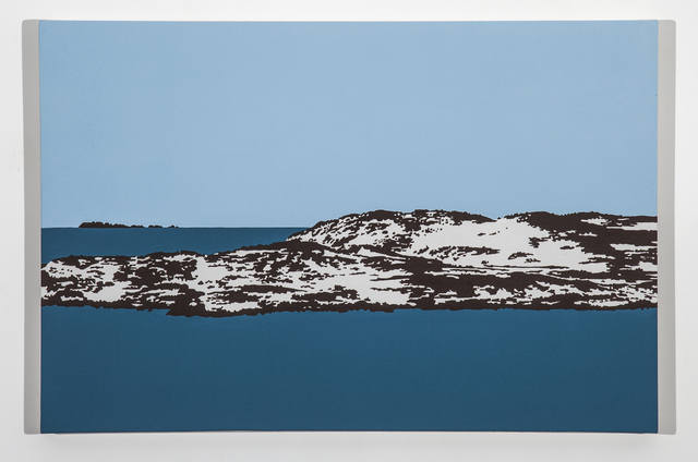 , 'Big Duck Island 3,' 2014, Christina Parker Gallery