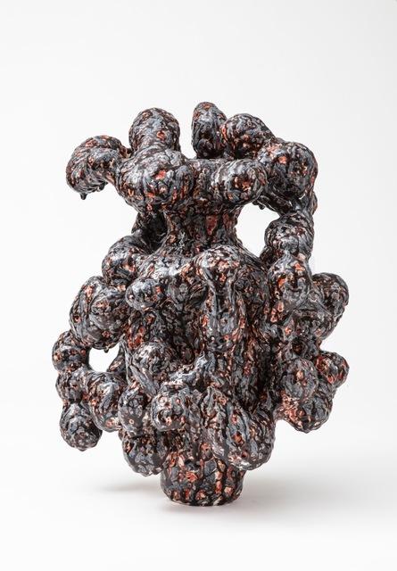 Morten Løbner Espersen, 'Horror Vacui (Brown/Orange),' 2014, Jason Jacques Inc.