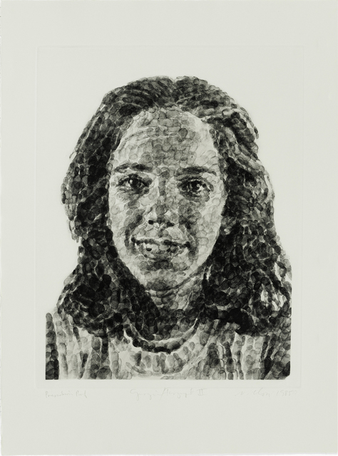 , 'Georgia/Fingerprint II,' 1984-1985, Graphicstudio USF