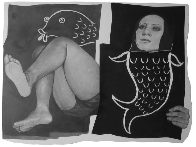 , 'Untitled (Fish),' 2012, Luis De Jesus Los Angeles