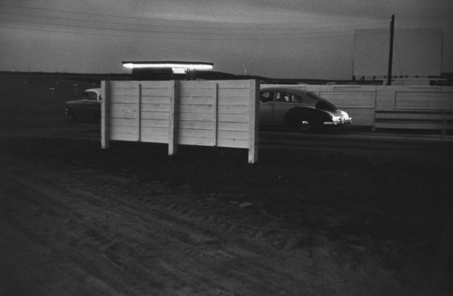 , 'Drive-in Movie. Lusk, Wyoming,' 1956, Danziger Gallery