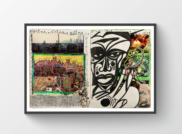 , 'NYC African Self Portrait,' 2017, Trotta-Bono Contemporary