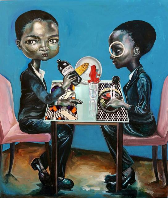 , 'Space Lunch,' 2016, rosenfeld porcini