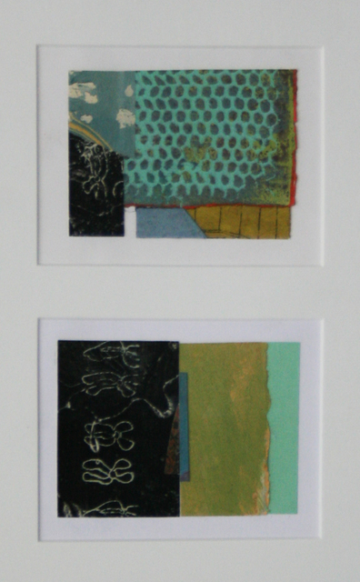 , 'Collage #61 & #62 (diptych),' , Wallace Galleries