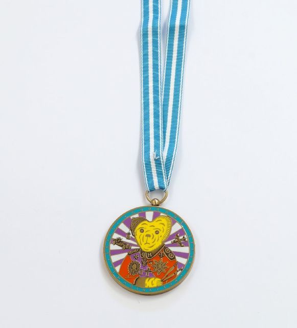 Grayson Perry, 'Teddy Bear Necklace Medal', 2018, Roseberys
