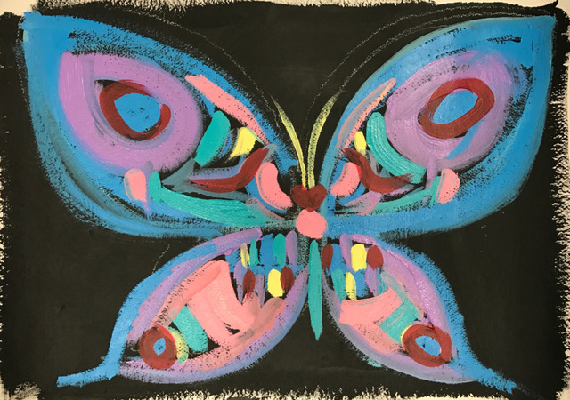 , 'Butterfly With Black Background ,' 2016, Maddox Gallery