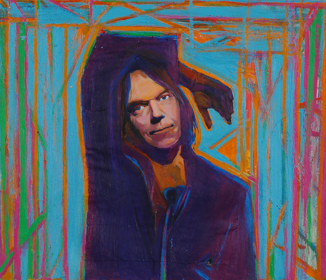 , 'Neil Young,' , Fountain House Gallery