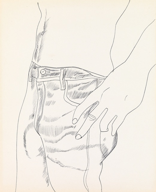 , ' Untitled (Hand in Pocket),' 1956, Whitney Museum of American Art