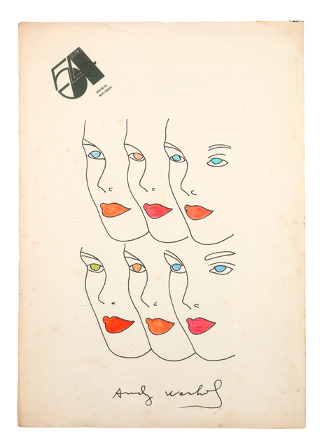 Andy Warhol, 'Female Faces', Circa 1970s, Chiswick Auctions