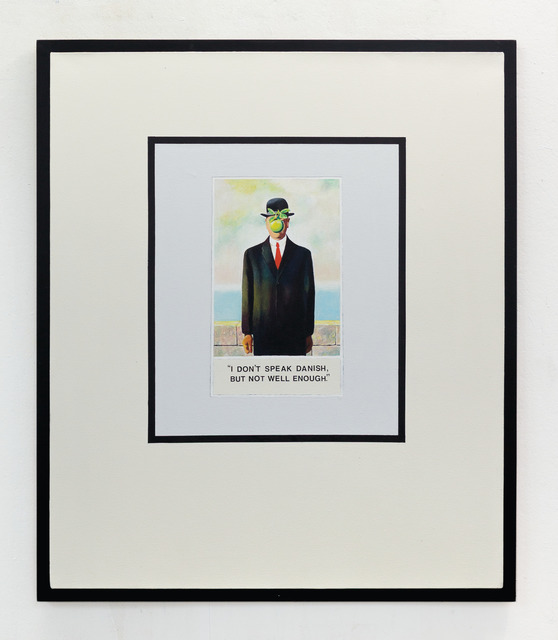 , 'With Magritte,' 2016, ADA Gallery