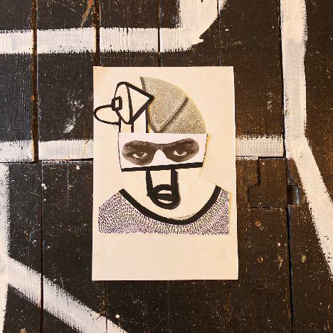 Marlon Forrester, '23 - 8, Sameface', 2018, Kate Oh Gallery