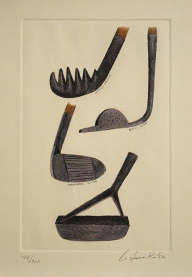, 'Golf Club Set,' 1992, The Loft Fine Art