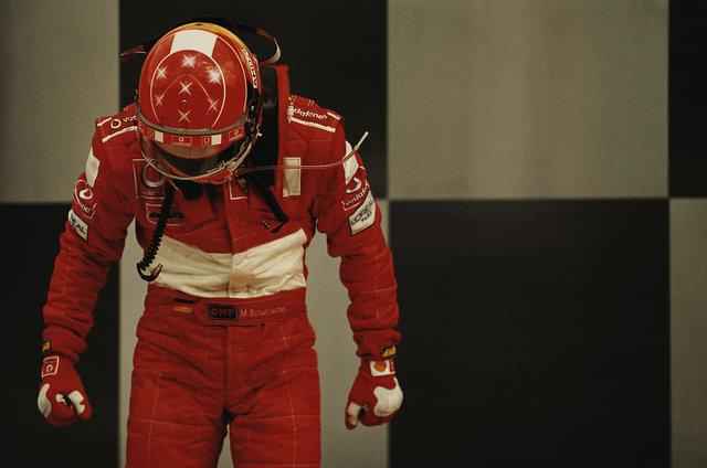 , 'Schumacher, Indianapolis #25,' 2003, CFHILL
