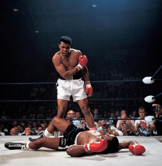 , 'Muhammad Ali Reacts (...),' 1965, CAMERA WORK